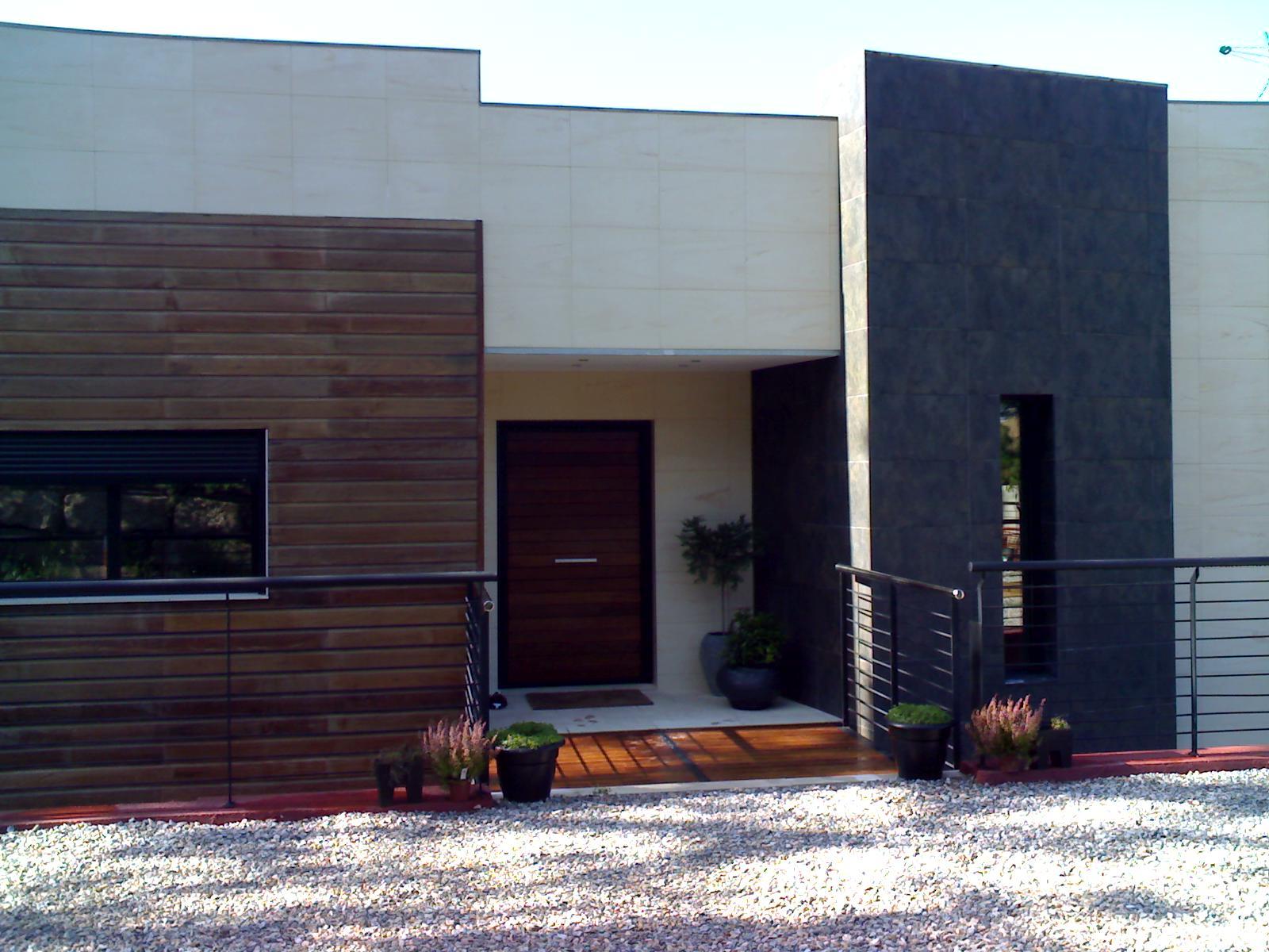 Construccion de casas en acero steel framing house for Casa minimalista steel framing
